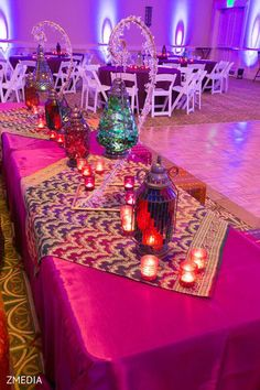 Indoor wedding decor!! We love this one!