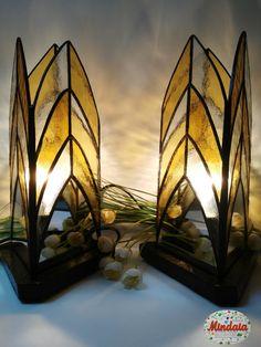 Conjunto lámparas Tifannys..Ideas decoracion por ElRincondeMindaia