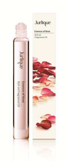 jurlique essence of rose roll-on fragrance oil #perfume #beauty