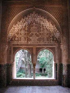 Hall of the Two Sisters, Alhambra, Granada