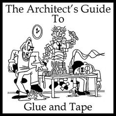 A comprensive guide to all the different options of glue and tape available for architecture model building.