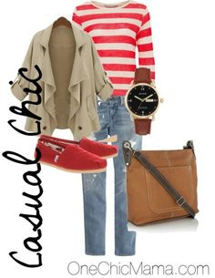 Casual chic outfit, perfect for the weekend!