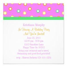 #Birthday #Party #Invitations