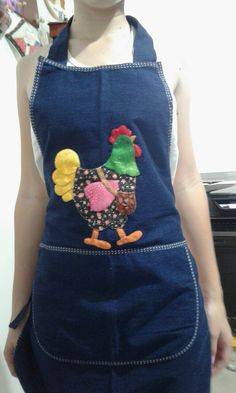 Applique Patterns, Quilt Patterns, Sewing Patterns, Sewing Hacks, Sewing Crafts, Sewing Projects, Sewing Ruffles, Jean Apron, Pinafore Apron