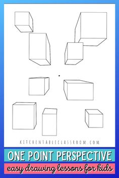 How to Draw One Point Perspective