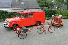 Mowag, Ford MSA en brandweerfiets.