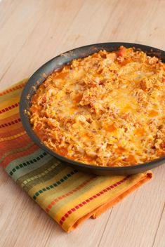 Chicken Enchilada Skillet - Macaroni and Cheesecake