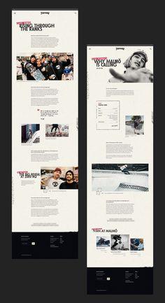 Redesigning the Thrasher website ~ UI/UX case study Wireframe Design, App Design, Branding Design, 2020 Design, Web Design Inspiration, Design Trends, Design Ideas, Pull Quotes, Case Study Design