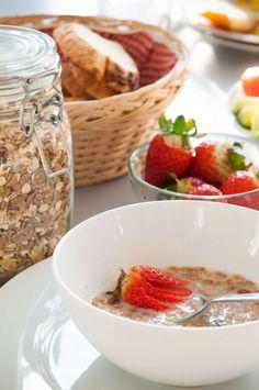 Breakfast in Transylvania #breakfast #strawberriesfromourgarden #freshlypicked #goodmorning #perfectgetaway @Cincsor.Transylvania.Guesthouses Cereal, Oatmeal, Breakfast, Food, Gourmet, The Oatmeal, Morning Coffee, Rolled Oats, Essen