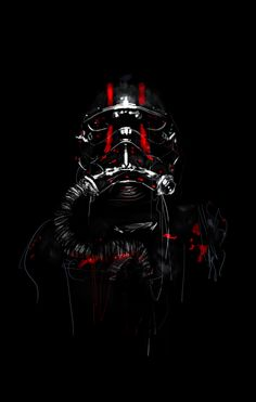 Star Wars Portraits on Behance #Tiepilot #starwars #tiefighter