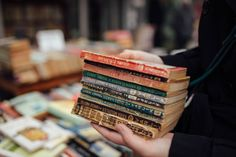 Lost in the World of Books • extracelestial:   used books in kadiköy, istanbul...