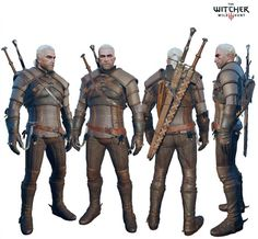 Theatrical quality Witcher 3 Geralt Costume custom order
