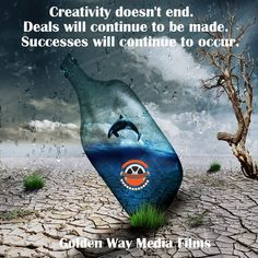 Creativity doesn't end. Deals will continue to be made. Successes will continue to occur. Screenplay Format, Film Finance, Script Writing, Writing Services, Feature Film, Short Film, Surfboard, Tv Series, Success
