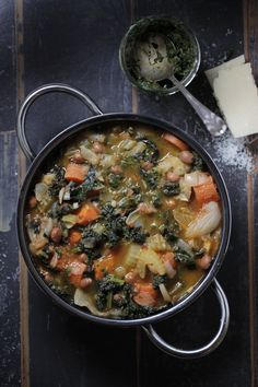 Minestrone with Vegetables of the Moment