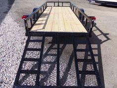 Image result for car hauler trailer rear deck angle