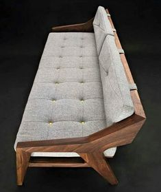 There are a number of kinds of contemporary sofa in the furniture industry. Generally, every sofa design is offered in an assortment of a variety of sizes and configurations to fit your needs. Sofa Rattan, Wood Sofa, Wooden Couch, Sofa Chair, Home Decor Furniture, Sofa Furniture, Furniture Design, Unique Furniture, Furniture Removal