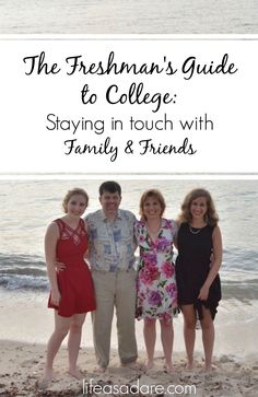 Moving away to college is an amazing experience, but it can be hard to maintain relationships with family and friends. Here are some tips to stay in touch with your friends and family after moving out! Read the rest at lifeasadare.com