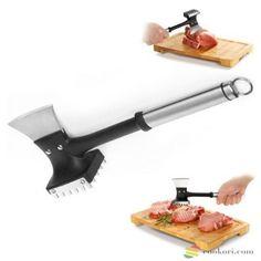 Tescoma konyhai bárd húsrost lazítóval, konyhai bárd, húsrost lazító, bárd húsrost lazítóval, Tescoma 638728, Minőségi konyhafelszerelés a stílus és a praktikum jegyében. Olyan eszközöket kínálunk, melyek élvezetessé és kreatívvá teszik a mindennapi tevékenységet a konyhában. Házimunkából legyen hobbi. Garden Trowel, Garden Tools, Garlic, Kitchen, Cooking, Yard Tools, Kitchens, Cuisine, Cucina