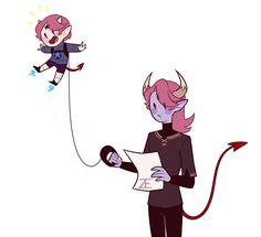 On leash ♥ Perfect for training your baby demon to fly around ♥ Evil Disney, Disney Art, Starco, Demon Drawings, Right In The Childhood, Star Force, Demon Art, Super Cat, Star Children