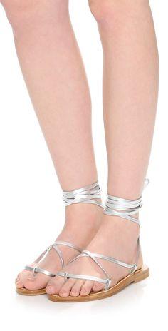 K. Jacques Bikini Wrap Sandals | SHOPBOP