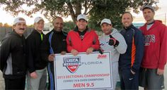 2014 Combo Men's 9.5 division champions from Tampa