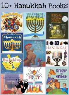 10+ Hanukkah Books - 3Dinosaurs.com