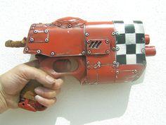 LONGSHOT RED MK1 ,a  diesel punk,steam punk,post apocalyptic,cyberpunk,cosplay,nerf gun,sci-fi  gun