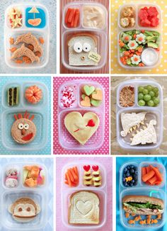 When I eventually have kids, you can bet they'll be eating crafty school lunches like this everyday!!!