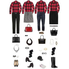 One Wardrobe Piece Styled Four Ways: Buffalo Plaid Shirt