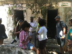 """Known simply as """"Grande Prison"""", the largest prison in Cap-Haïtien compared to the other prison in the city, L'Arsenal. This prison used throughout the years also housed political prisoners as well under the Duvalier Regime. The room pictured in the back can hold approximately 4 to 5 people; during its use, close to 100 individuals were in each cell.  #ChristophienneTour2016 #CapHaitien"""
