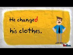 English Grammar For Beginners - Regular Verbs In Past Simple Tense