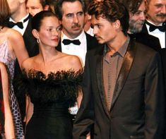 Kate Moss and Johnny Depp, Cannes,1998