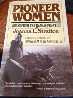 Gena's Genealogy. Telling HerStory 2014: Pioneer Women by Joanna L. Stratton. #WomensHistoryMonth #genealogy