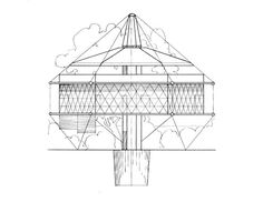 Galeria de Clássicos da Arquitetura: Casa Dymaxion 4D / Buckminster Fuller - 2