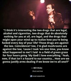 Bill Hicks Quotes Bill Hicks Quote  'try Going Somewhere Without Money'  Word .