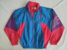 292c8f5a8146 Vintage Retro 80 s Gray Tag Nike Windbreaker Hood Jacket Size S