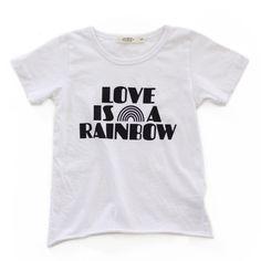 love is a rainbow tee | kawaiian lion