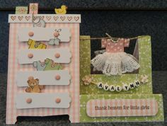 Thank Heaven for Little Girls card by Ann - papercrafts