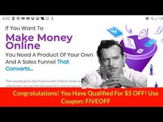 AffiliFunnels Demo & Review 💚 video affiliate marketing funnels made for you hosted👏 cloud base soft - YouTube Affiliate Marketing, You Can Do, Told You So, Make Money Online, How To Make Money, Making Ten, Cloud Based, Free Training, Hard To Find