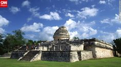 """Ronald Lee Breeze took this photo of El Caracol, The Snail, Mayan celestial observatory. """"I traveled throughout the Yucatan in 2005 starting in Merida and visiting Dzibilchaltun, Chichinitza, Uxmal and Tulum. I traveled to learn more about the history of the Maya."""""""
