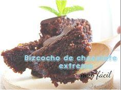 Dulce Imaginativa: Vídeo receta: Bizcocho de chocolate extreme