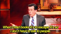 But books are better than having to deal with people, anyway. | 25 Signs You're Addicted To Books