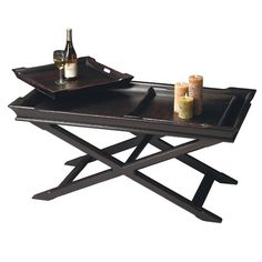 I pinned this 3 Piece Artiste Coffee Table & Tray Set from the Dutch Farmhouse event at Joss and Main!