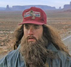 Tom Hanks - Forrest Gump  Run for how many years? I can't remember. you tell me!!