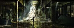 15 Exclusive Concept Art for Ghost In The Shell, The Movie
