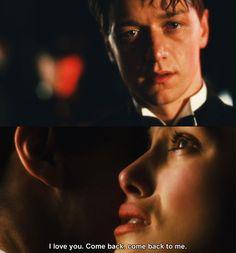 Cecilia Tallis: I love you. I'll wait for you. Come back. Come back to me. - Atonement (2007) #ianmcewan #joewright #fanart