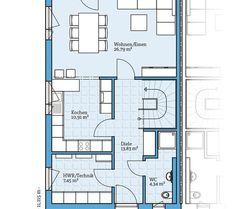 Bildergebnis f r haus mit doppelgarage grundriss haus for Hauser plane einfamilienhaus