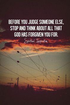 God is a forgiving God...