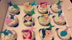Mermaid cupcakes Mermaid Cupcakes, Desserts, Food, Meal, Deserts, Essen, Hoods, Dessert, Postres