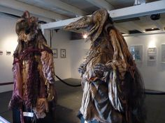 The Dark Crystal Muppets - amazing! i'd love to see these. Ive seen Tim Burton and brian froud would be the BEST!